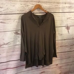 Vince high low tunic